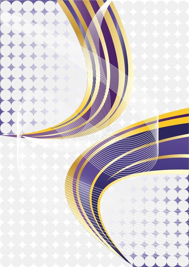 Vektorvioletter abstrakter Hintergrund vektor abbildung