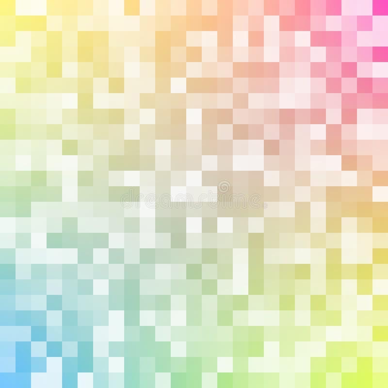 Vektorzusammenfassungs-Designmosaik lizenzfreie abbildung