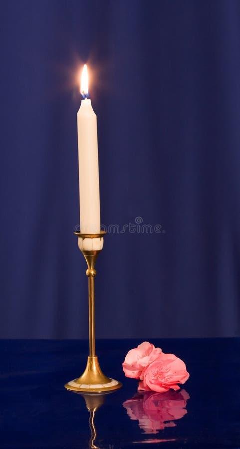 Download Vela imagen de archivo. Imagen de esperanza, noche, candlestick - 1283437