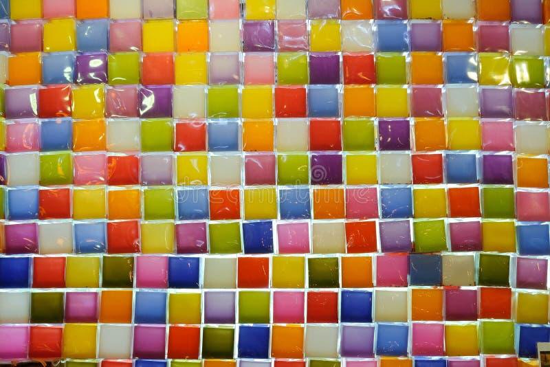 Vela colorida fotos de stock