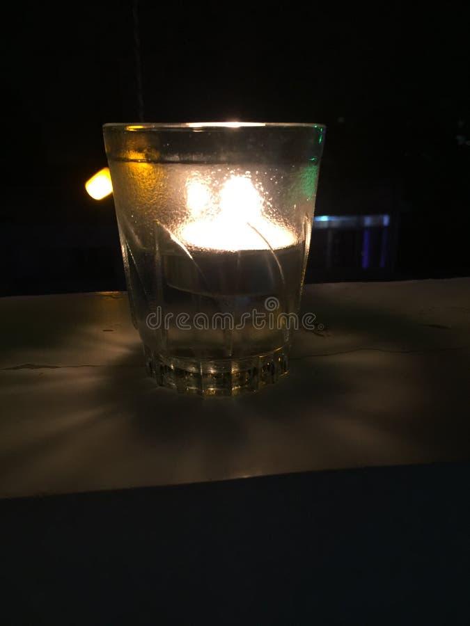 Vela de cristal imagen de archivo libre de regalías