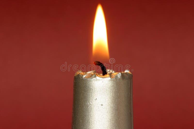 Download Vela de la Navidad imagen de archivo. Imagen de llama, holiday - 190219