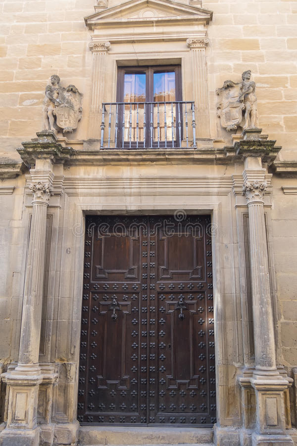 Vela De Los Cobos Pałac, Ubeda, Hiszpania zdjęcia stock