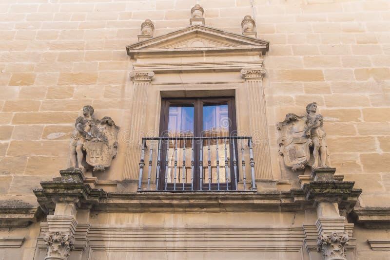 Vela De Los Cobos Pałac, Ubeda, Hiszpania obraz royalty free