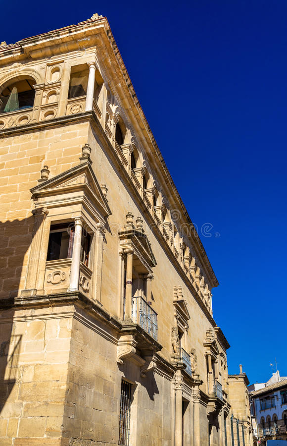 Vela de los Cobos Palace à Ubeda, Espagne image stock
