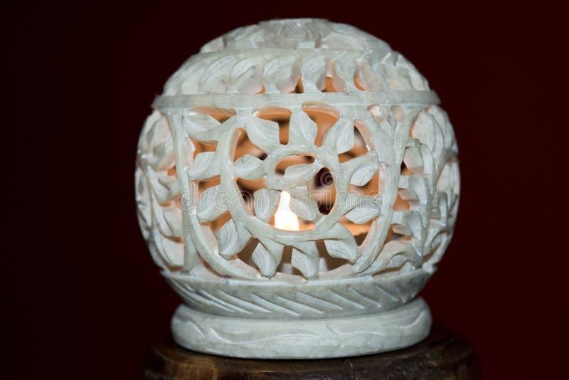 Vela del Lit en piedra foto de archivo libre de regalías