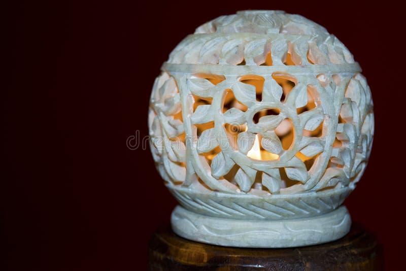 Vela del Lit en piedra imagen de archivo libre de regalías