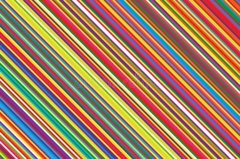 Vela do Natal, teste padrão do pirulito Fundo diagonal listrado com linhas inclinadas Ilustração listrado do vetor do contexto ilustração royalty free