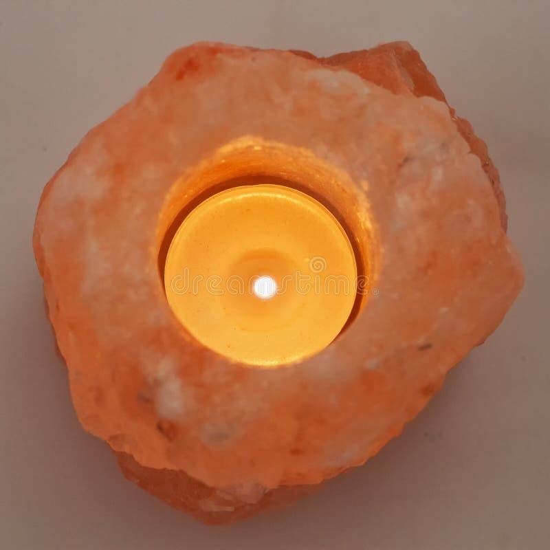 Vela en piedra imagen de archivo libre de regalías