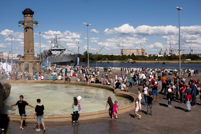 Vela Szczecin 2014 imagens de stock