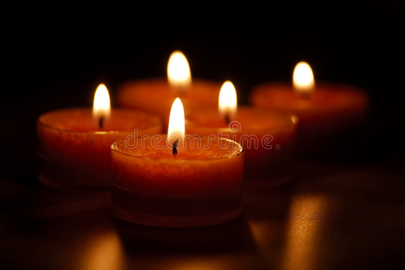 Velas fotos de stock royalty free