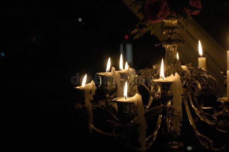 Download Velas foto de archivo. Imagen de chandelier, dying, detalle - 44853586