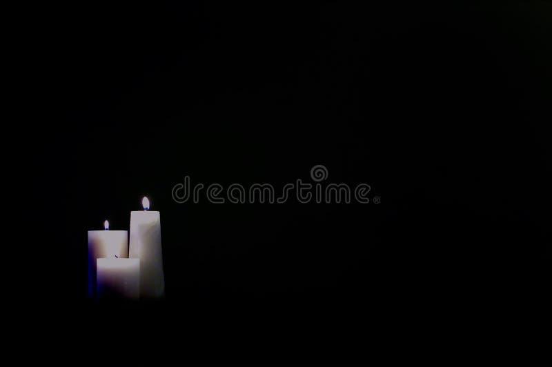 Download Velas foto de archivo. Imagen de velas, llama, tres, oscuro - 93518