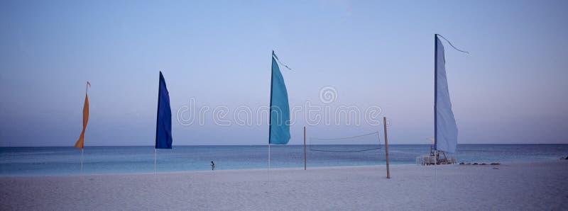 Velas de Bahamas en la oscuridad foto de archivo