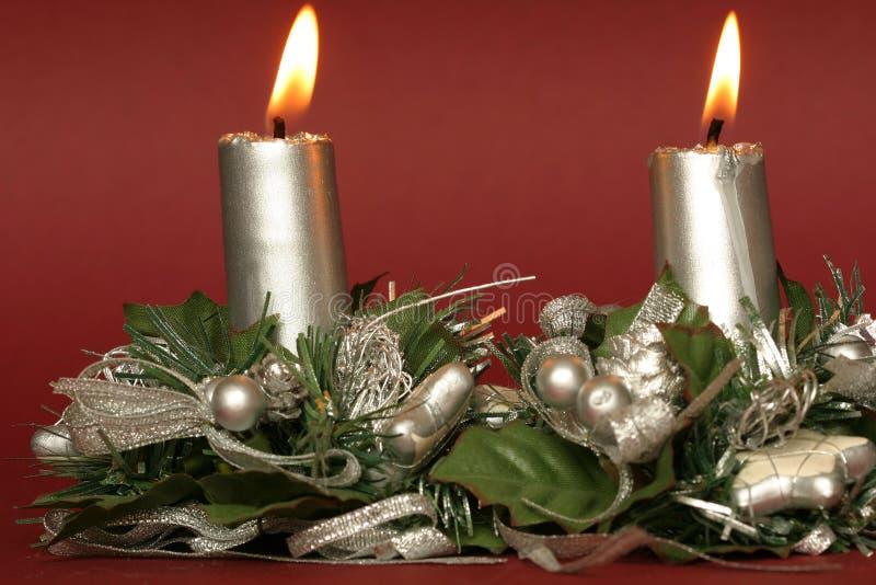 Download Velas de la Navidad foto de archivo. Imagen de alegría - 190222