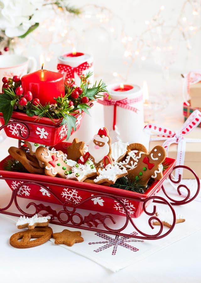 Velas de la Navidad del vector decoration foto de archivo libre de regalías