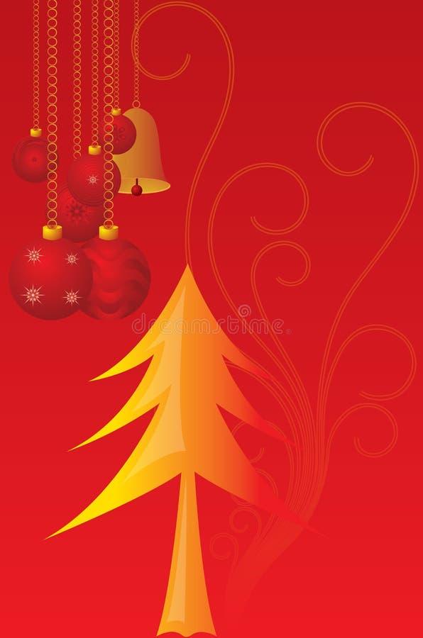 Velas de los cristmas del vector stock de ilustración