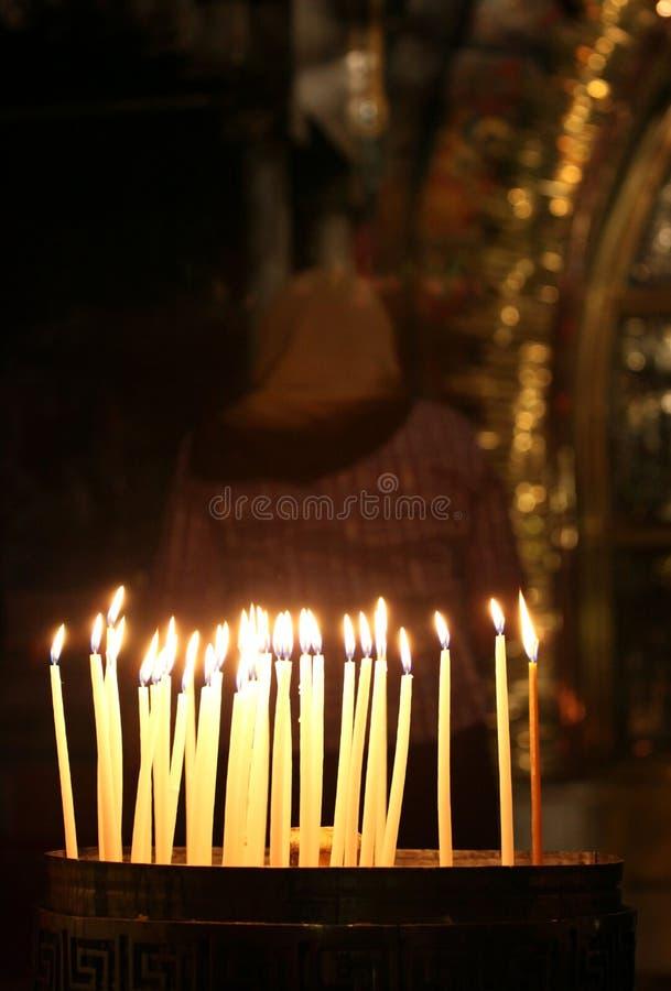 Download Velas Na Igreja Do Sepulchre Santamente Imagem de Stock - Imagem de remembrance, se: 16873921