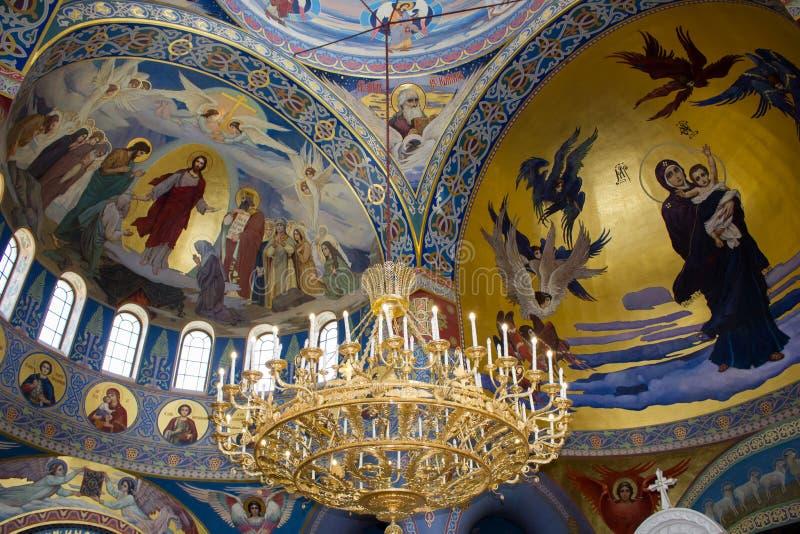 Velas na igreja ortodoxa imagens de stock royalty free