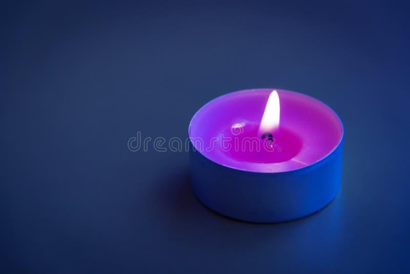 Velas de luces imagen de archivo libre de regalías