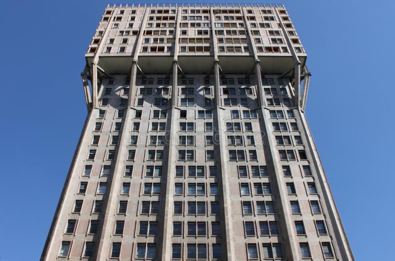 Velasca Tower, Milan stock image