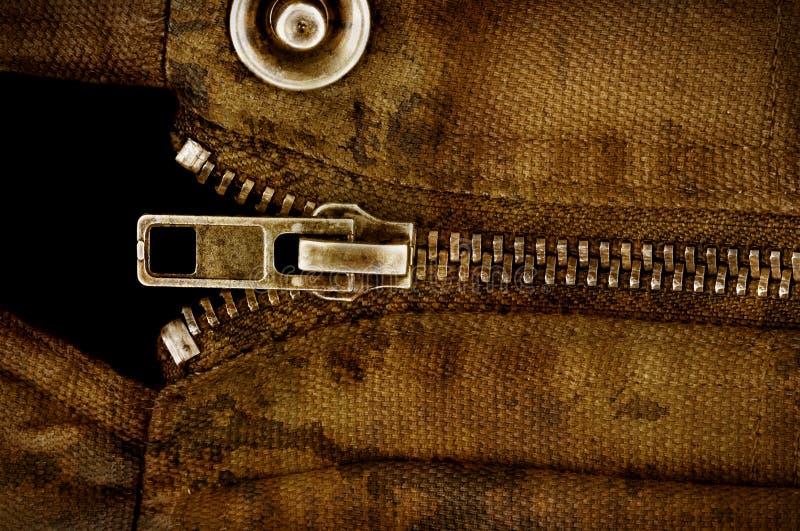 Velcro dans l'instruction-macro photographie stock
