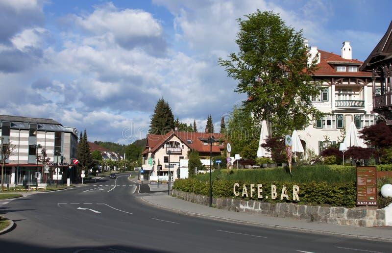 Velden am Wörther vê, Áustria foto de stock royalty free