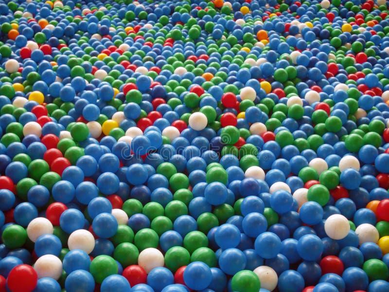 Vele ballen stock fotografie