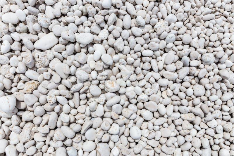 Vele grijze stenen als achtergrond stock foto's