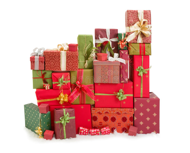 Vele Kerstmis stelt voor stock foto's