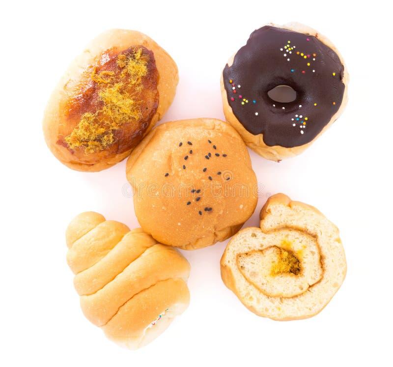 Vele samen geschikte types van brood royalty-vrije stock afbeelding