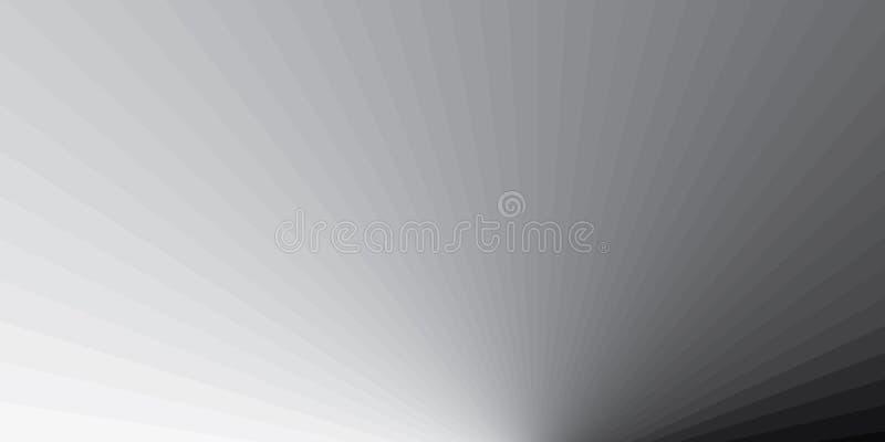 Vele schaduwen van grijze strepenachtergrond Grijze strepen abstrach gradiënt Vector eps10 vector illustratie