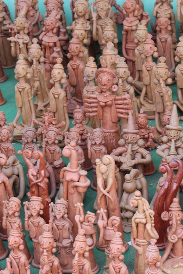 Vele standbeelden royalty-vrije stock fotografie