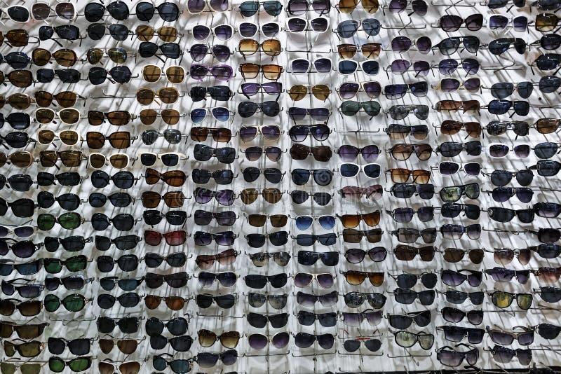 Vele zonnebril royalty-vrije stock foto