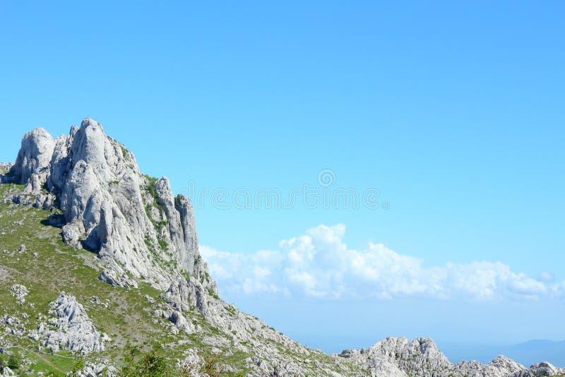 Velebit berg arkivfoto