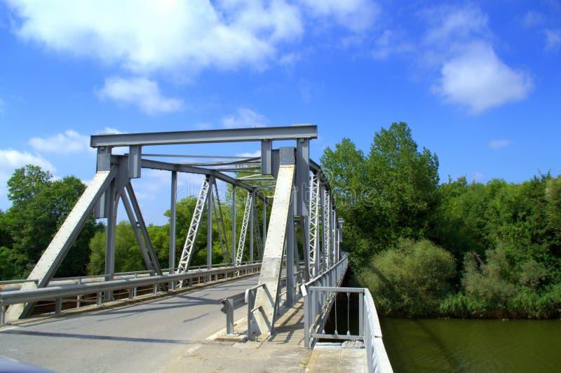 Veleka河桥梁,保加利亚 免版税库存照片