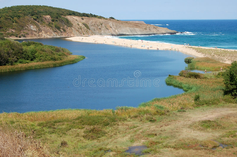 Veleka Fluss lizenzfreies stockfoto