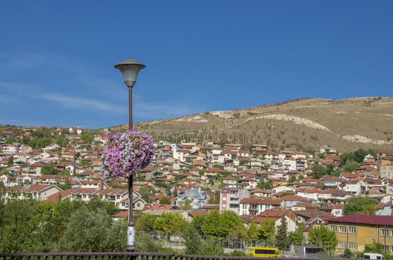 Veles miasto w Macedonia obrazy stock