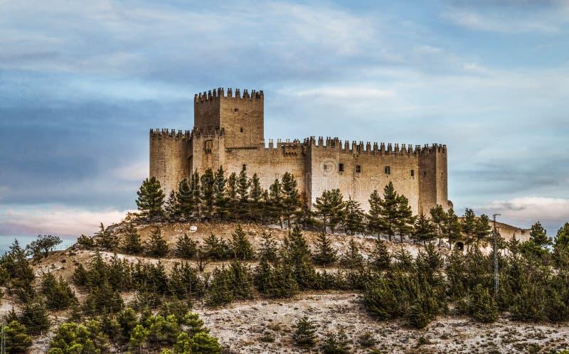 Velez Blanco Castle. In Almeria, Spain. Built in the XVI Century royalty free stock images