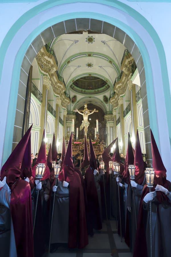 Download Procissão De Cristo Del Perdon Em Velez-Rubio Foto de Stock Editorial - Imagem de povos, cruz: 29826258