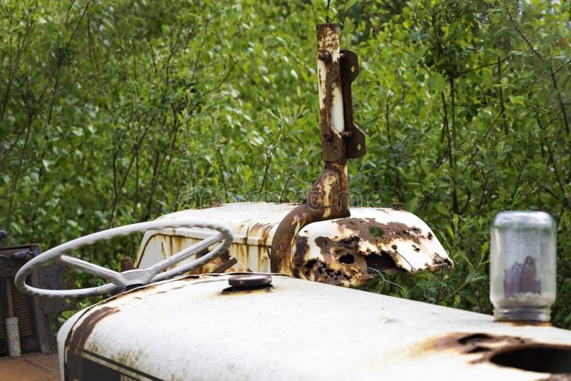 Velho e oxidado fotografia de stock royalty free