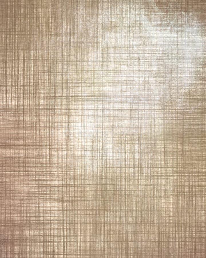 Velho linnen a textura ilustração do vetor