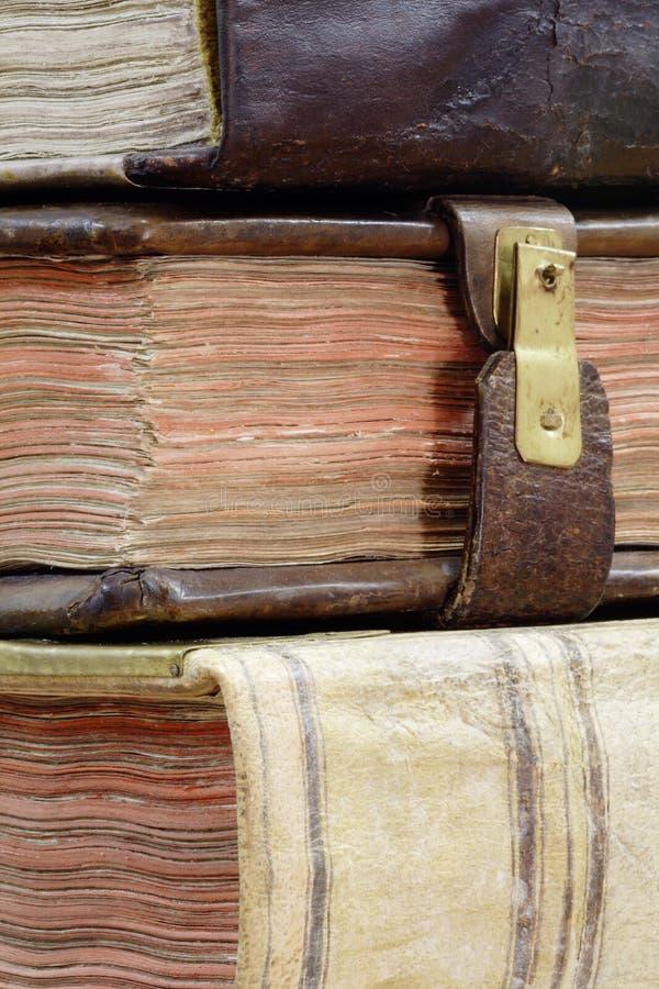 Velho-livro imagens de stock