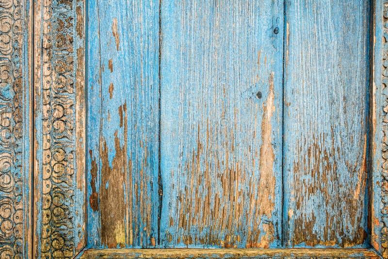 Velho, painéis de madeira do grunge usados como o fundo fotografia de stock royalty free