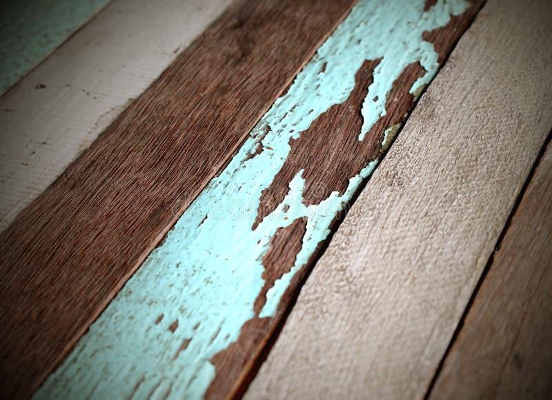 Velho, painéis de madeira do grunge usados como o fundo fotografia de stock