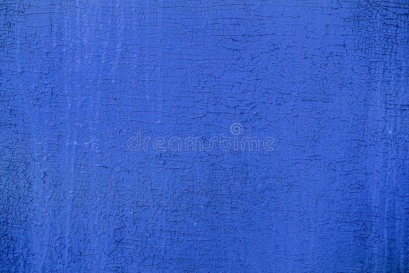 Velho, vintage, madeira compensada do azul do oblepicha imagens de stock