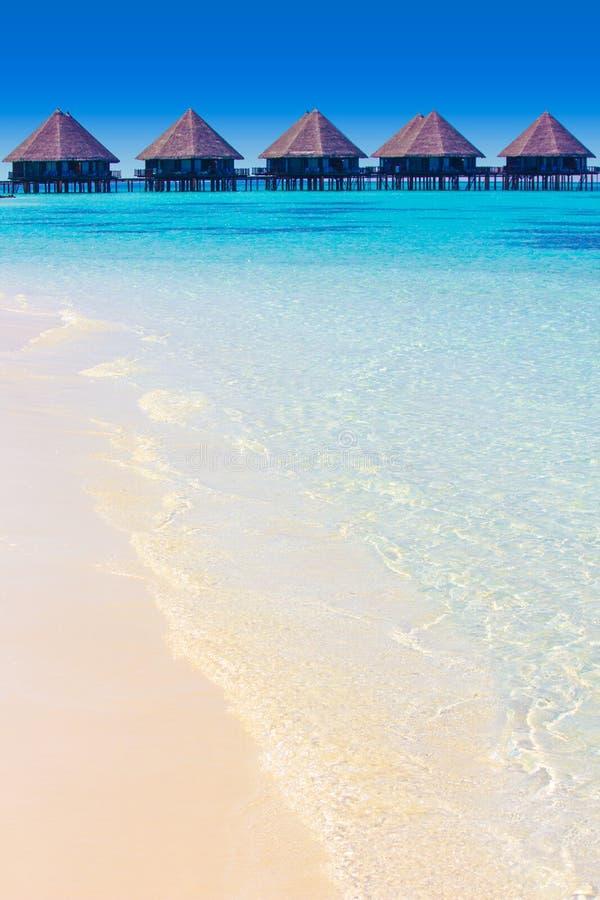 Velidhu in den Malediven, Eden auf Erde stockbild