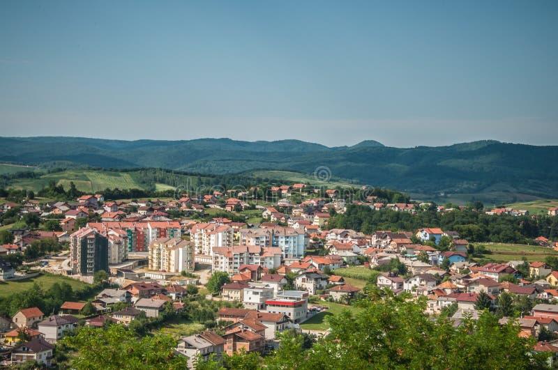 Velika Kladusa, Bośnia zdjęcie stock