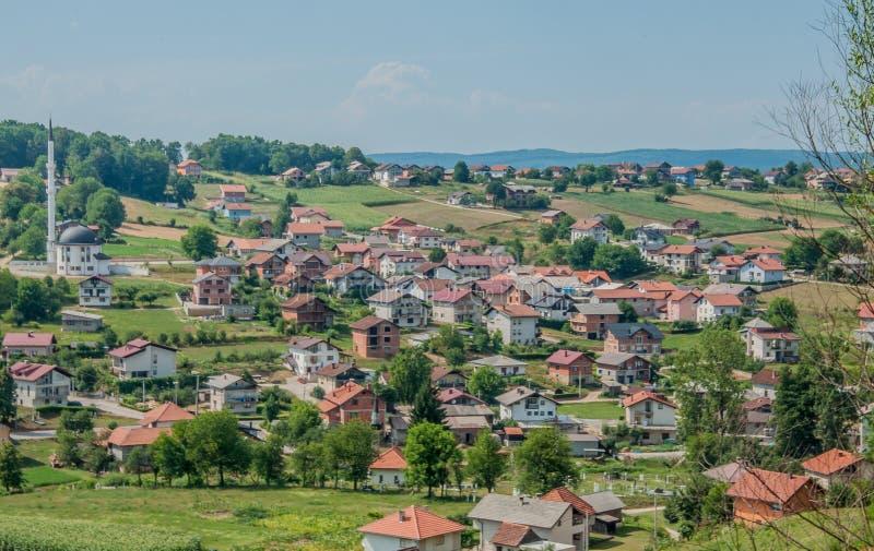 Velika Kladusa, Bosnien stockbild