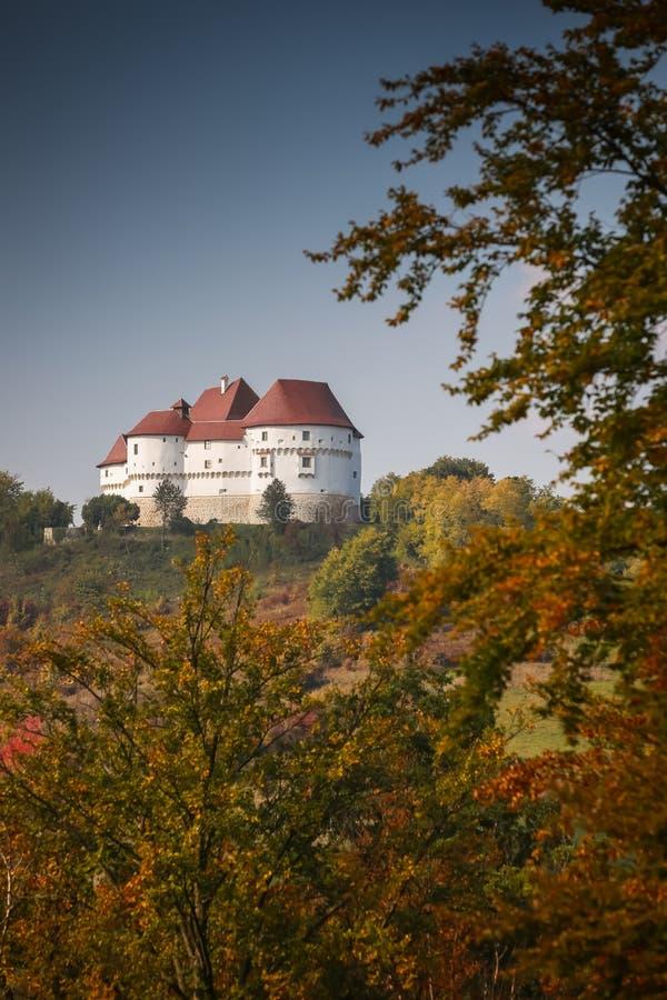 Veliki Tabor castle in Zagorje stock photography